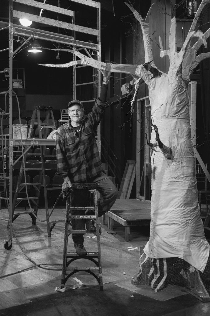 Steve Nyberg Feature Article Hillbarn Theatre Master Builder