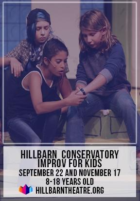 Improv classes at Hillbarn Theatre